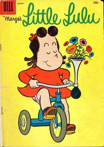 Lulu comic strip
