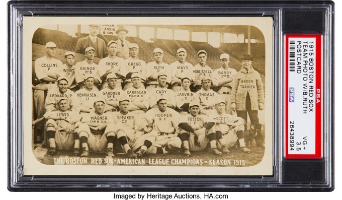 Heritage Sports Auction on February 25-26