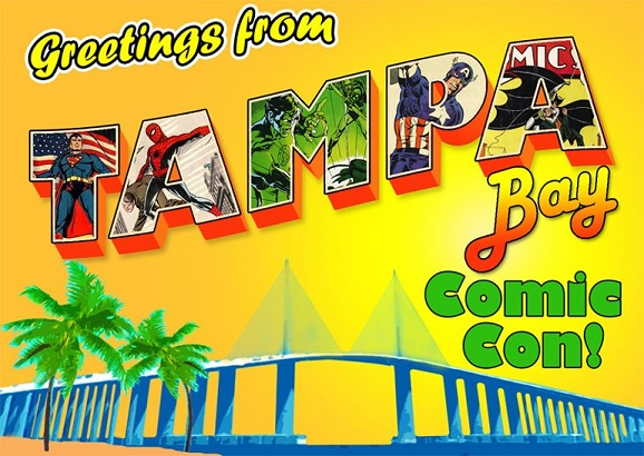 July 28-30: Tampa Bay Comic Con