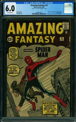 ComicLink Auction with CGC 6.0 Amazing Fantasy #15 Ends Soon