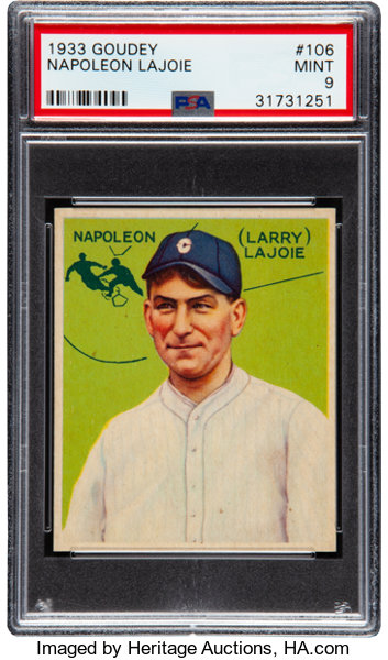 Scoop Where The Magic Of Collecting Comes Alive 1933 Goudey