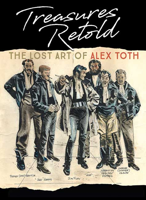 Treasures Retold: The Lost Art of Alex Toth
