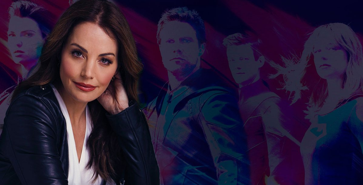 Smallville's Erica Durance Joins Arrowverse Crossover