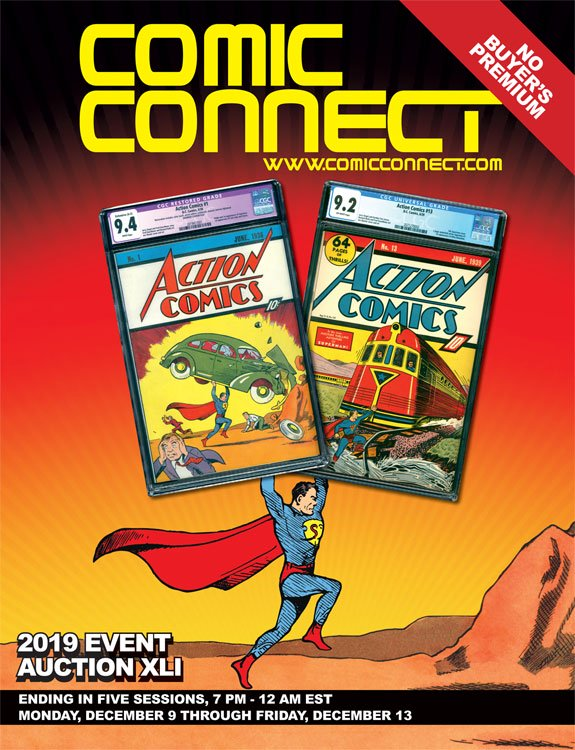 ComicConnect Auction Catalog Download Available