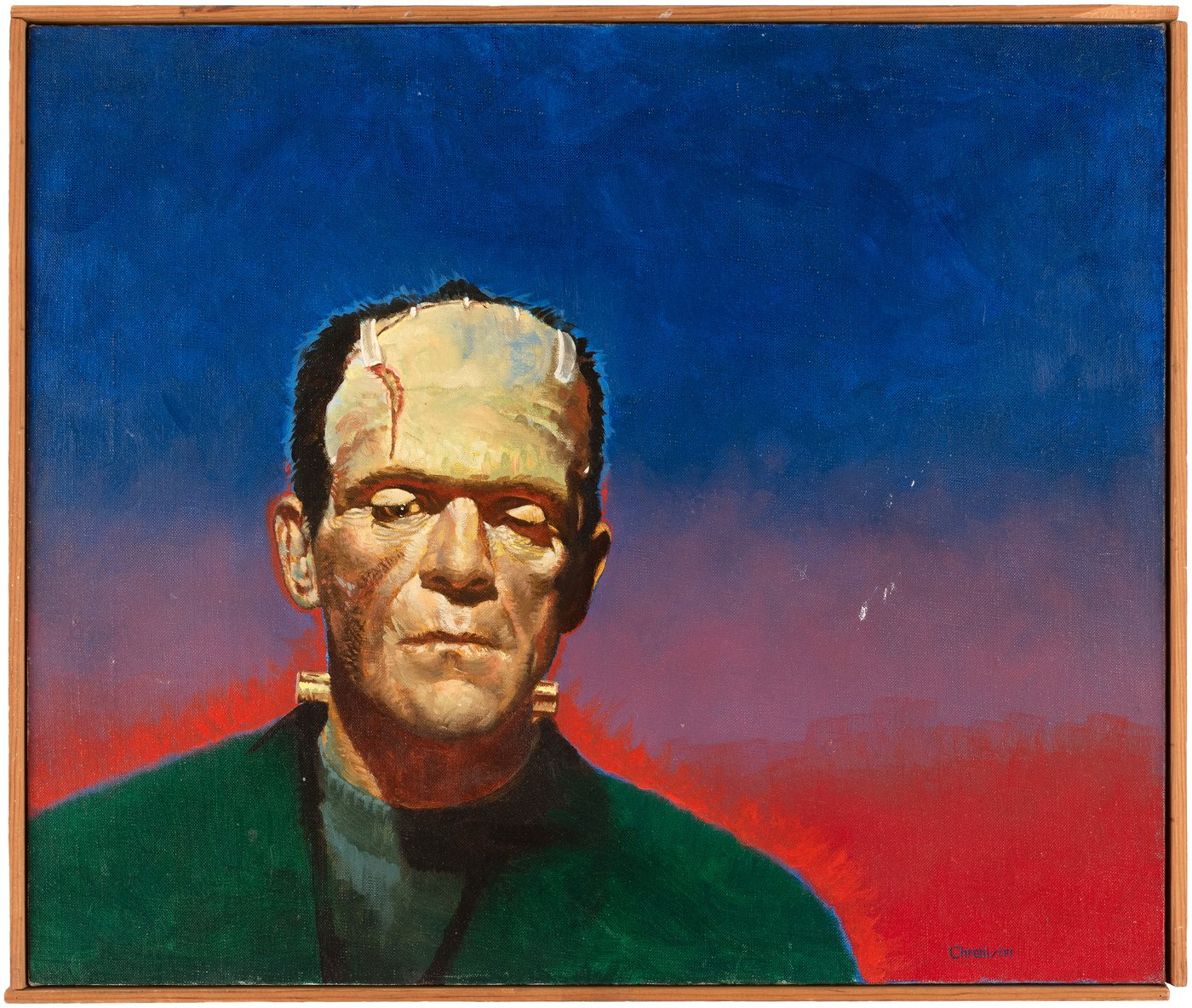 Remco Universal Monster Art, Figures in Hake's Auction