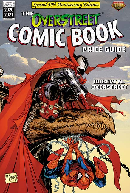 The Overstreet Comic Book Price Guide #50 in Stores September 2
