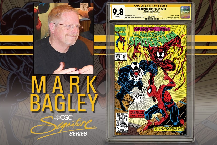 Mark Bagley to do CGC In-House Private Signing