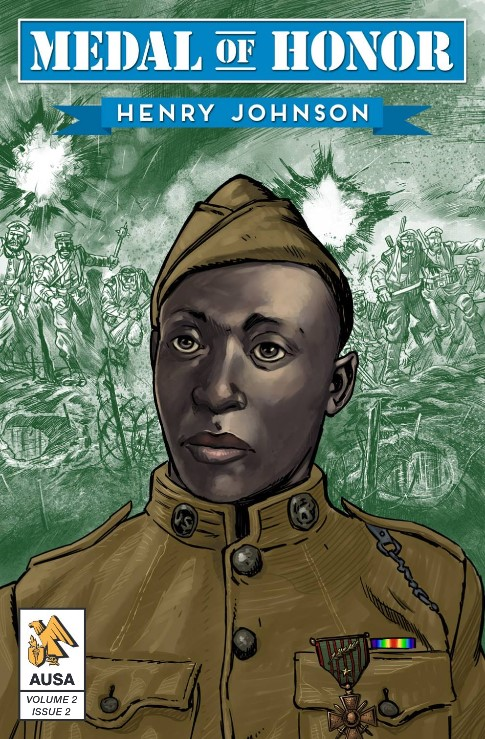 Medal of Honor Recipient Henry Johnson Free Comic