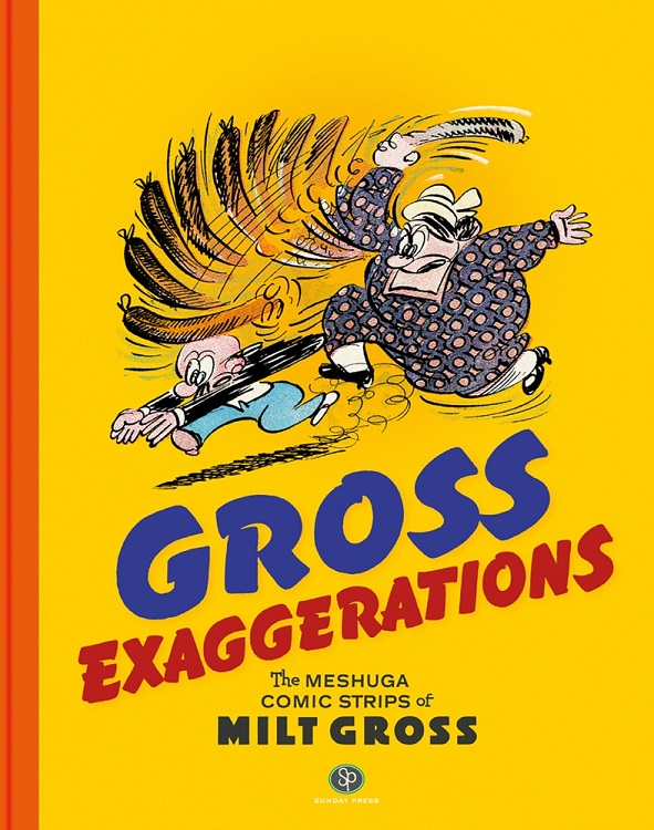 Milt Gross Comic Strip Collection Out in Dec.